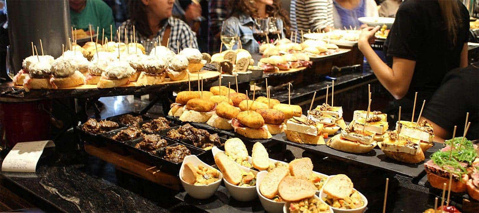Tapas and Pinchos in Bilbao - Spain