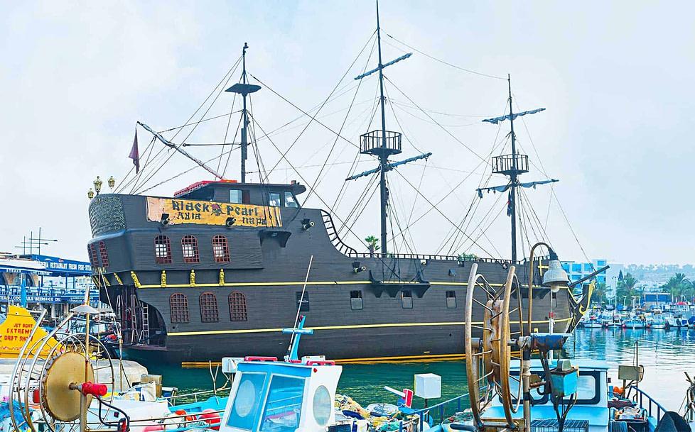 The Black Pearl ship in Ayia Napa - Cyprus
