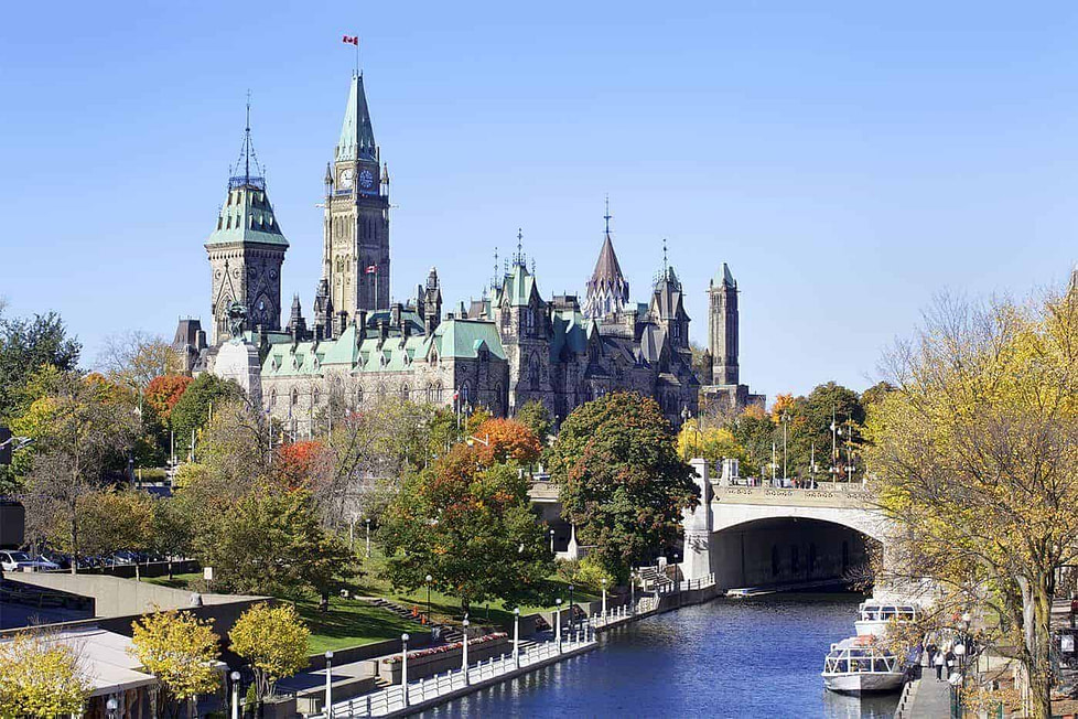 Ottawa is ranked as one of the best places to live in Canada