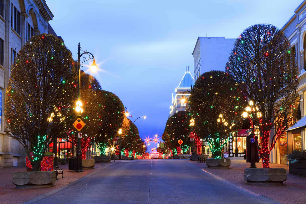 Living in Victoria BC - Christmas