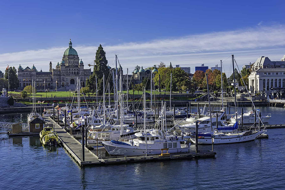 Living in Victoria BC, Canada