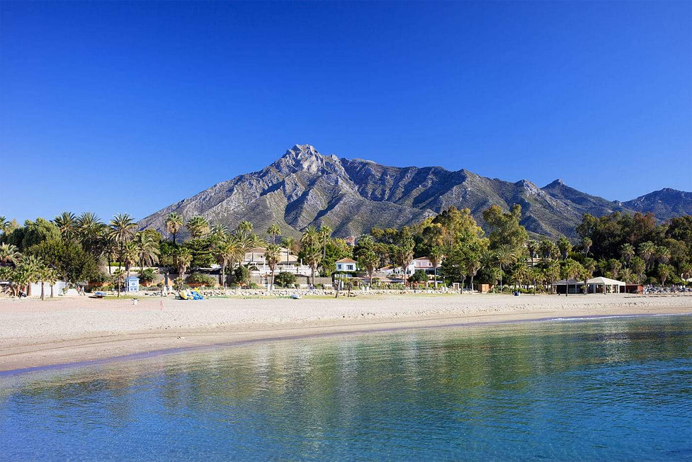 Marbella beach - Costa del Sol - Spain