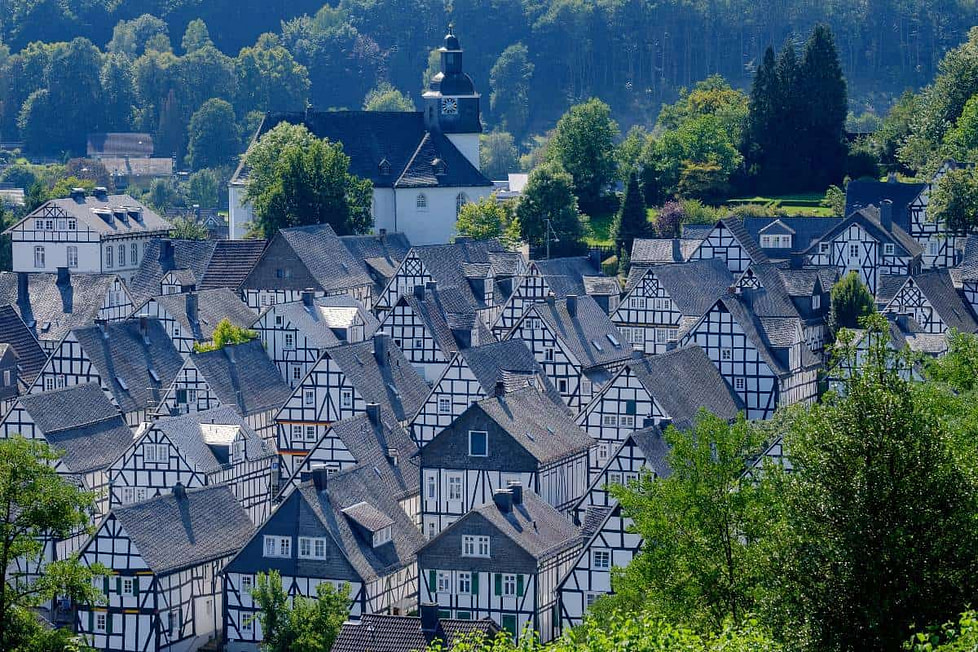 Best places to retire abroad - Germany, Freudenberg.