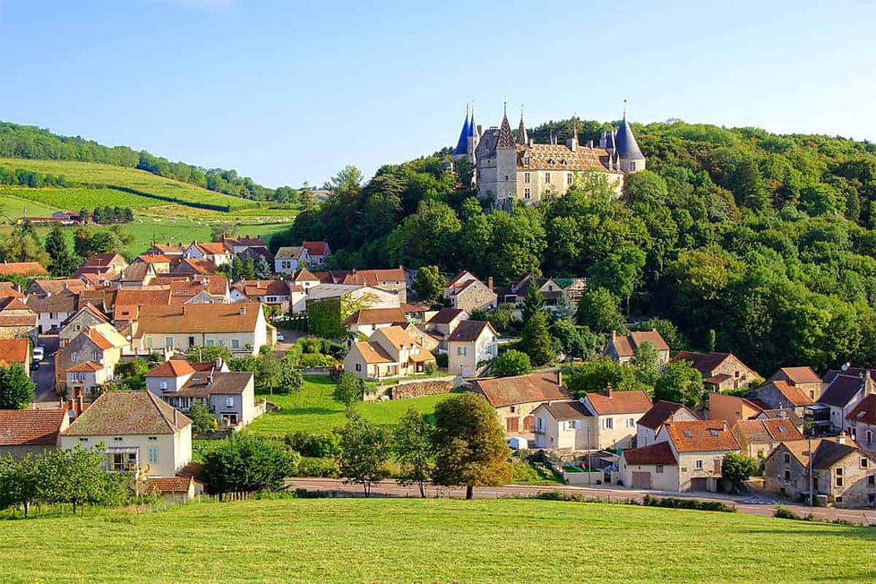 Burgundy in France. Top Expat Place to Live