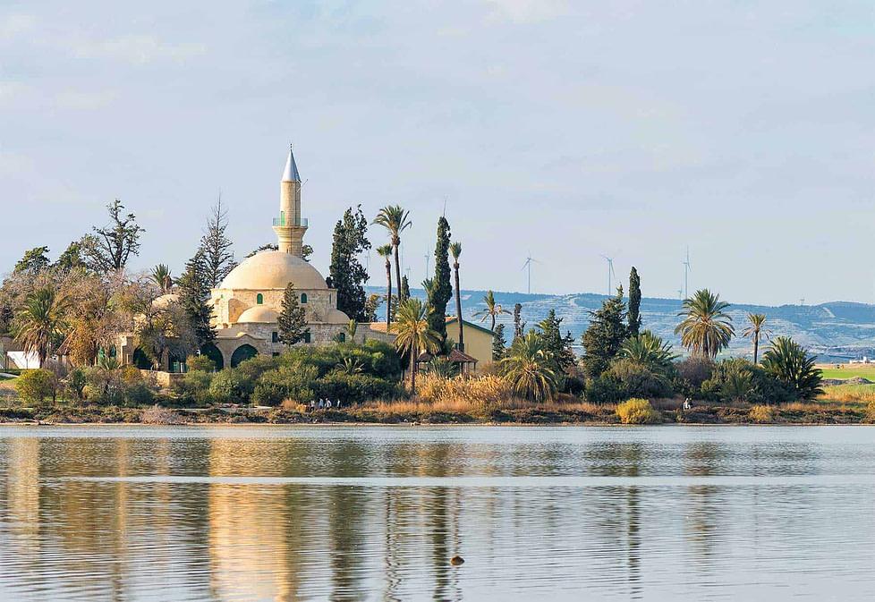 The Sultan Tekke Mosque in Larnaca - Cyprus