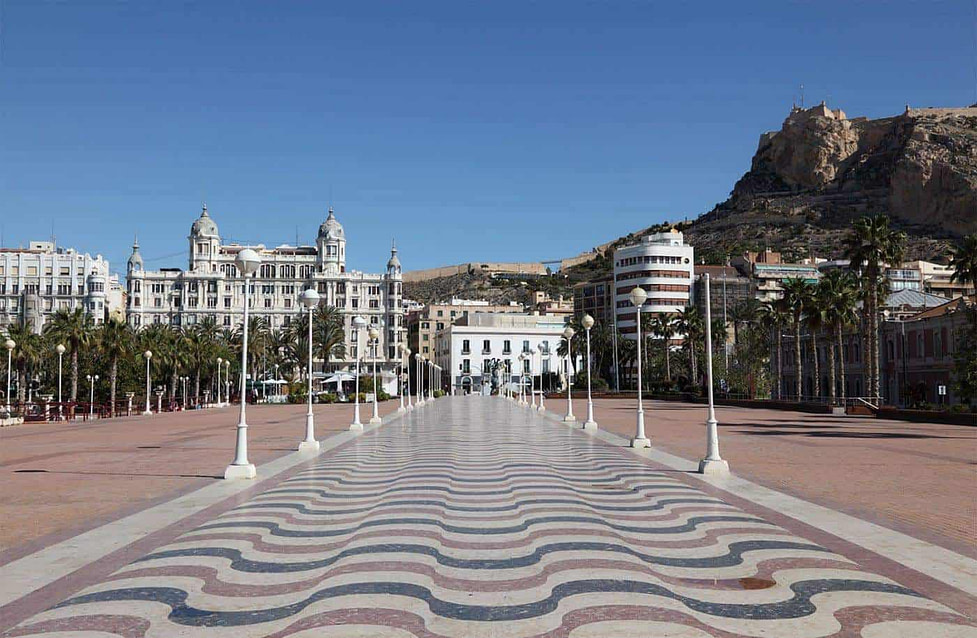 Esplanada Promenade Alicante - Spain