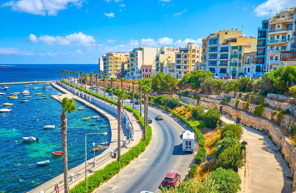 Bugibba city is one of the best places to live in Malta