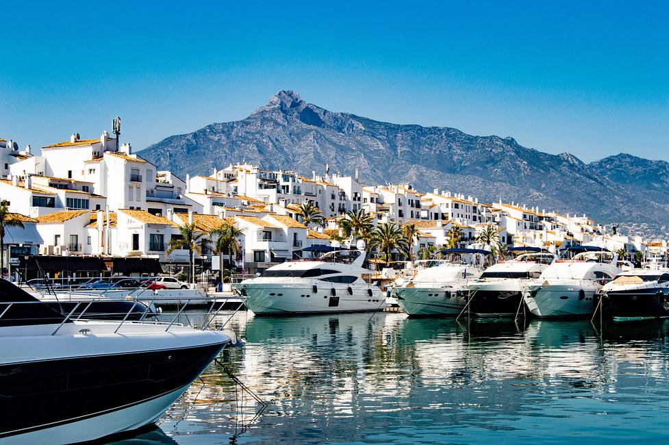 living in Marbella