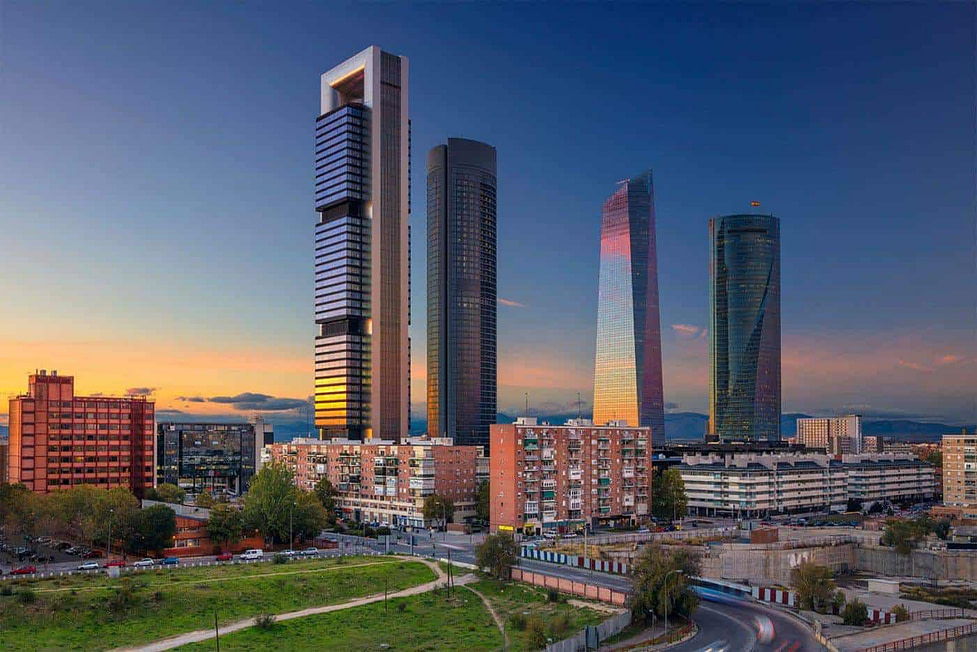 Best places to live in Spain - Madrid Financial District