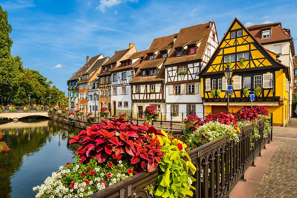 Colmar Town, Alsace, France