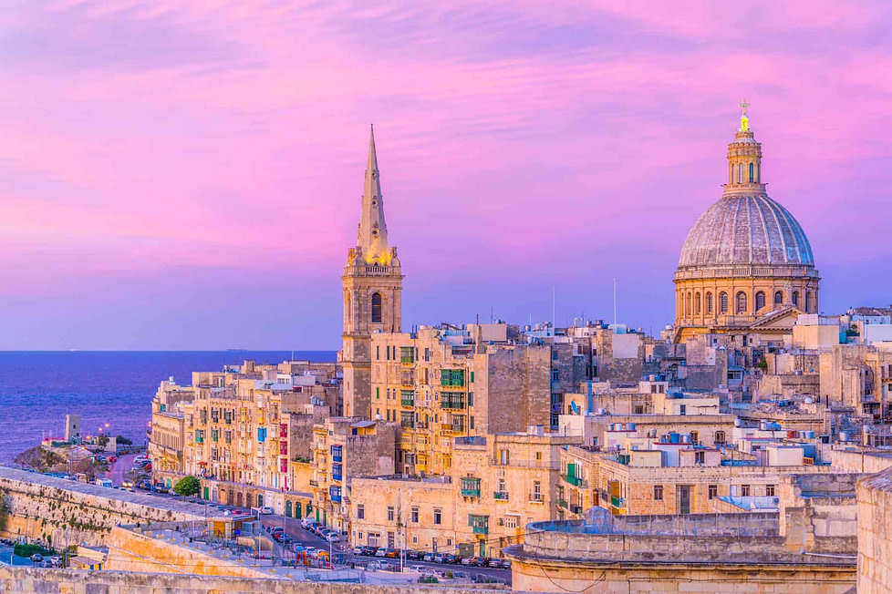 Valletta - one of the best places to live in Malta for expats