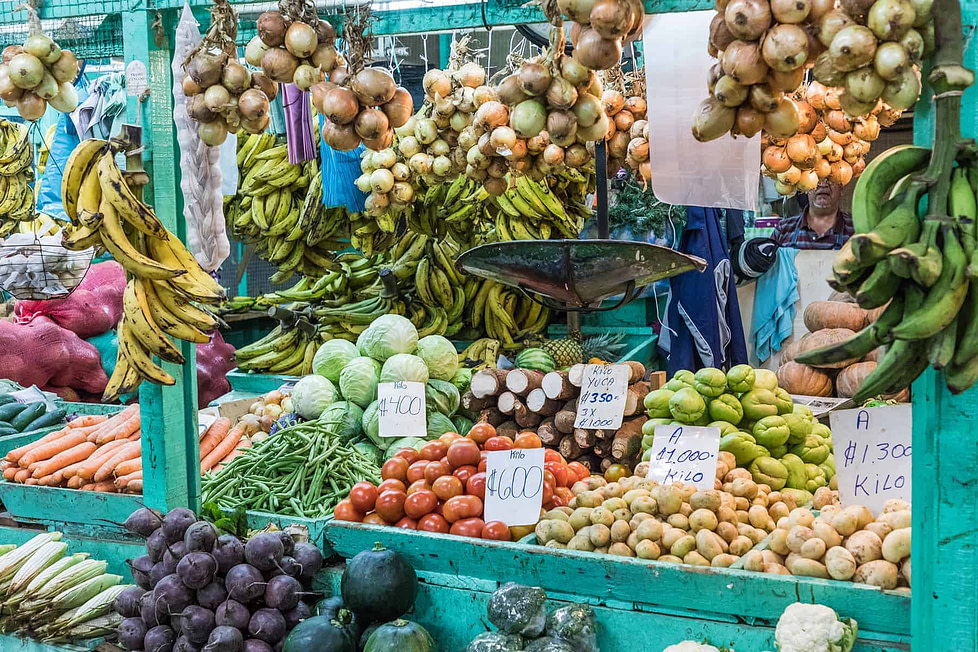 Living in Costa Rica - farmer's markets