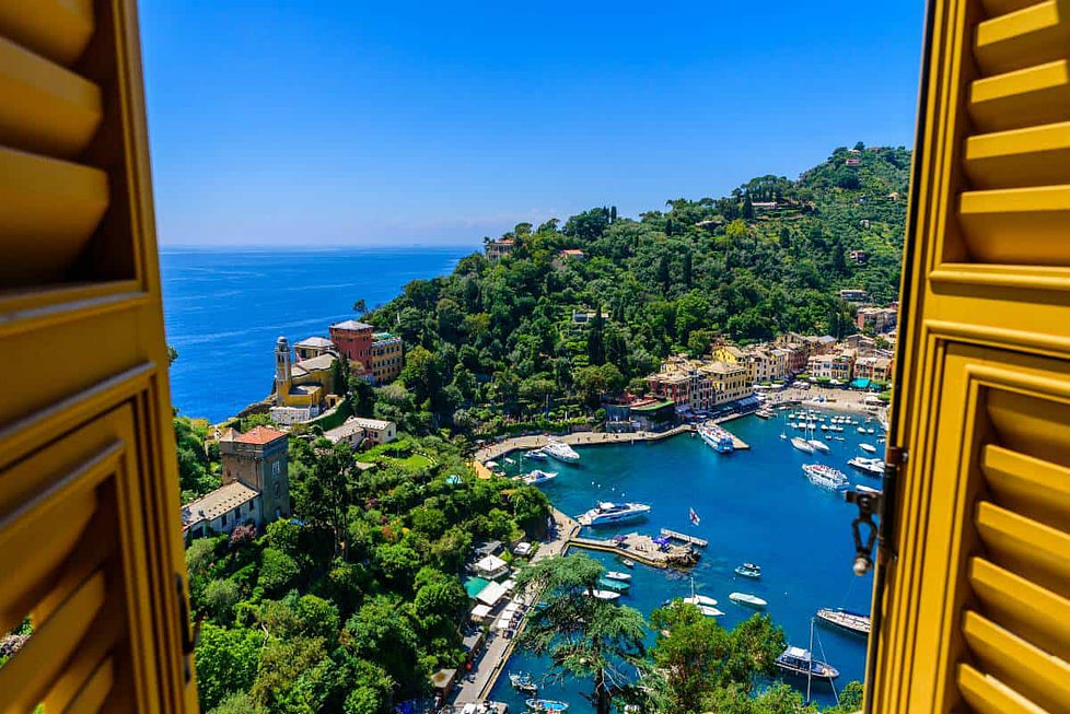 European locations with great weather throughout the year - Liguria