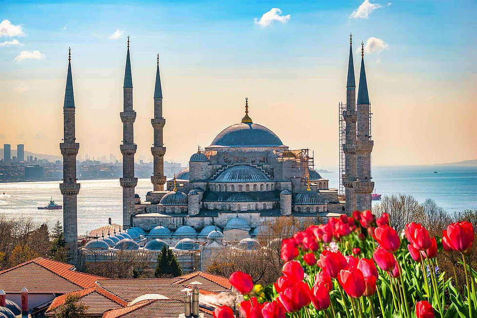 Istanbul in Turkey and inspirational work destination